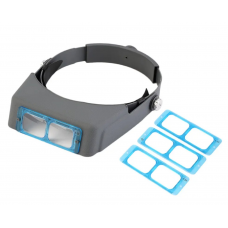 HS3067 1.5X 2X 2.5x 3.5x Hands Free Magnifier Magnifying Glass for Operation Handicraft Jewelry