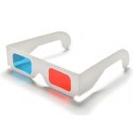 HS3068 10pcs Red/Cyan Cardboard 3D Glasses