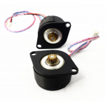 HS3077 Micro Mini 36mm Stepper Motor 2-phase 4-wire Miniature Small Motor 14hk2401 Synchronous Wheel Monitoring Pan Tilt PTZ 0.9 Degree