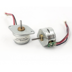 HS3083 15mm Mini  Micro Stepper Motor 2 Phase 4 Wire, Step Angle 18 Degrees, Shaft Diameter 1.5 mm