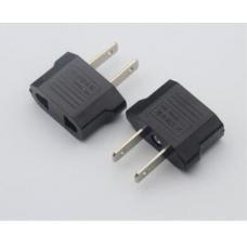 HS3085 EU to US Portable Black Plug transform Socket
