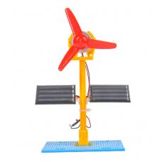 HS3091 STEM Education Kits #46 Double solar Energy electric fan