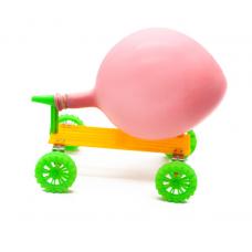 HS3096 STEM Education Kits #51 Recoil balloon car
