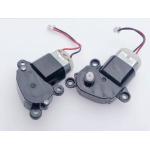 HS3125 280 Worm Geared Motor  Plastic Gear Box Motor Carbon Brush Motor DC 5V-12V for Handmade Toy Model, 5.5mm Square Shaft