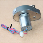 HS3126 370 Micro Geared Motor with Wire DC 24V Speed Recution Motor for Coffee Machine Application 5470rpm, Reduction ratio: 1:17