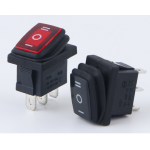 HS3147 KCD3 waterproof rocker switch with light 3Pin 2Positon