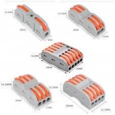 HS3258 SPL1/2/3/4/5 Wago Electrical Wire Connector