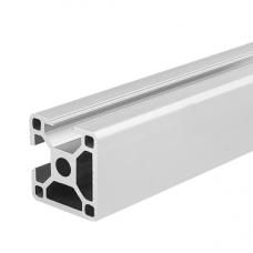 HS3264 White 3030N2 T-Slot Aluminum Profiles Extrusion Frame For CNC 25cm/30cm/40cm/50cm/100cm
