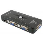 HS3282 4 Port USB KVM Switch
