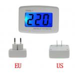 HS3285 DM55-1 80-300V Digital Voltmeter  LCD Display EU/US Plug
