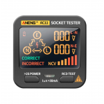 HS3330 ANENG AC11 Socket Tester Electric Leakage Detector LCD Display