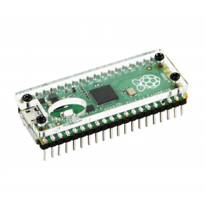 HS3496 Raspberry Pi Pico Board Clear Acrylic Protection Case
