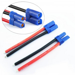 HS3517 EC5 Battery Connector 12WAG Cable 10cm
