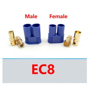 HS3532 EC8 Plug Male + Female 10pair