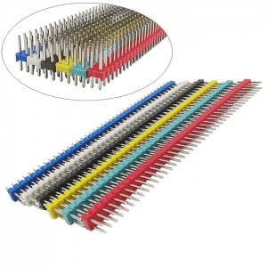 HS3534 2*40P 2.54mm Single Row Male Pin Header 100pc