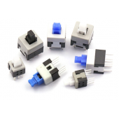 HS3537 5.8*5.8mm /7*7 mm/8*8mm/ 8.5*8.5mm Tactile Power Micro Switch 6 Pin 100pcs