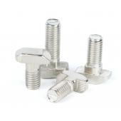 HS3545 100pcs T Hammer Head Bolt Screw for 20/30/40/45 Aluminum Profiles