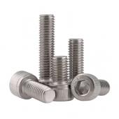 HS3547 100pcs DIN912 cup head hex screw  M4 M5 M6 M8