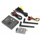 HS3549 48Ch 5.8G 600mw 5km Wireless AV Transmitter TS832 + Receiver RC832  for FPV Multicopter RC