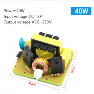 HS3570 DC-AC inverter power battery DC DC 12V to 220V boost module 40W