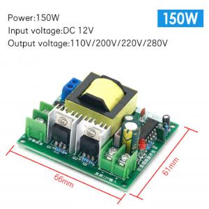 HS3572 DC-AC inverter power battery DC DC 12V to 220V boost module 150W