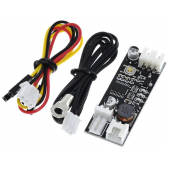 HS3574 Single 12V 0.8A DC PWM 2-3 Wire Fan Temperature Control Speed Controller set
