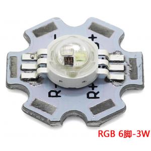 HS3581 20mm 3W 6P RGB led with PCB