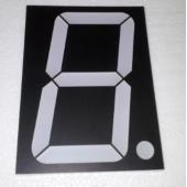 HS3582  4inch 1 Digit Red 7 Segment Led Display