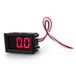 HR0352A 0.56inch 3 wires LED Mini Digital Voltmeter DC 0V To 99.9V Red/Green/Blue