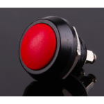 HR0589R 10pcs Red PBS-33B 12mm  Electric Domed Head Momentary Push Button