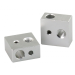 HR0748 Aluminum Heater Block E3D V6 Print Head Hot End Heating Block 16×16×12mm