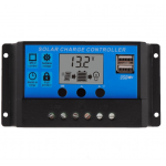 HS0055 PWM 10A/20A/30A Dual USB Solar Panel Battery Regulator Charge Controller 12V 24V
