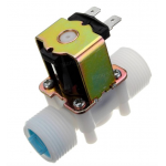 HS0091 G3/4 12V PP Normally Closed Type Solenoid Valve Water Diverter Device