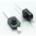 HS0106 100pcs Flashlight DIY Accessories Switch flashlight Flashlight tail button switch 1208YD