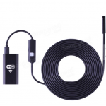 HS0119 8mm 3M WiFi Endoscope Borescope Inspection Camera Waterproof For Android iPhone