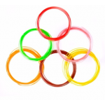 HS0146 PCL Filament Low Temperature 5m/roll rainbow package ,9 color in one package