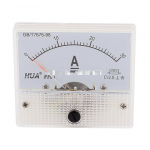 HS0202 85C1-1A 2A 3A 5A 10A 20A 30A Analog Current Panel Meter 65*56MM