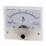 HS0203 85C1-5A Analog Current Panel Meter