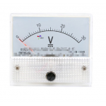 HS0203A 85C1-5V 10V 20V 30V 50V 100V 200V 300V analog Panel Voltmeter 65*56MM