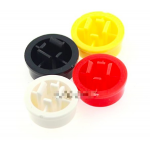 HS0280 100pcs Yellow Cap for Pushbutton switch B3F-4055