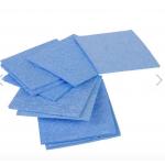 HS0304 60 x 60mm Blue Solder Cleaning Sponge For Soldering Iron Tip