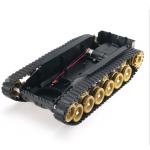 HS0313 3V-9V DIY Shock Absorbed Smart Robot Tank Chassis Car Kit With 260 Motor For Arduino SCM
