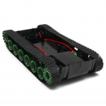 HS0314 3-8V DIY Shock Absorbed Smart Robot Tank Chassis Car With 130 Motor For Arduino