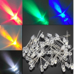 HS0330 5mm Round Top Water Clear LED Emitting Blue 1000pcs