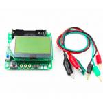 HS0359 New M328 Transistor Tester LCR Capacitance ESR Meter + Test Clip