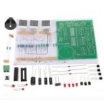 HS0428 DIY 6 Digital LED Electronic Clock Kit 9V-12V AT89C2051