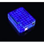 HS0439 Blue clear Arduino UNO R3 case