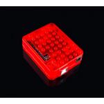 HS0440 RED clear Arduino UNO R3 case