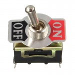 HS0469 12V Heavy Duty Toggle Flick Switch ON/OFF Car Dash Light Metal SPST E-TEN1021