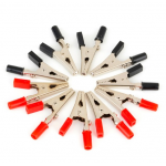 HS0547 100pcs Red Alligator Clips Clamps 52mm